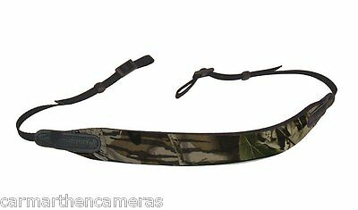 OPTECH E-Z Comfort Strap fits Camera/Binoculars - NATURE/camouflage 2710252
