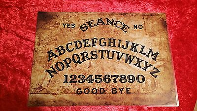 Old London Thames Map Ouija Board Seance Laminated sheet fortune telling Magic