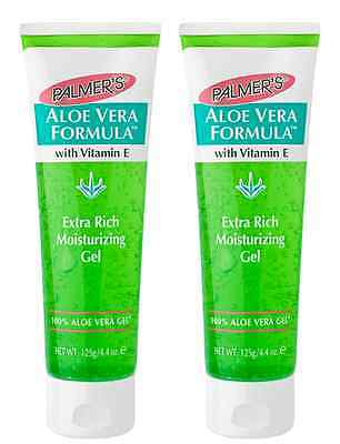 Palmers Aloe Vera Formula Gel Tube 2x 125g (Double Value Pack)