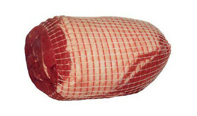 2m - Red & White Butchers/Roast/Beef Meat Netting - Large