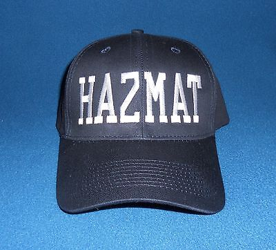 HAZMAT Hat Firefighter Fire Department Hazardous Materials