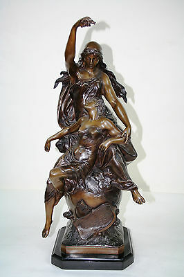 """Bronze Sculpture Titled """"Peace on Earth"""""""