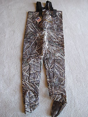 Women Shadow Grass Fishing/Hunting Stocking Foot Wader Sz XL Reversible
