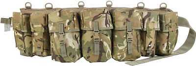 Airborne Webbing Sets Multicam - 3 & 4 Pouch Special Forces Para Field Gear