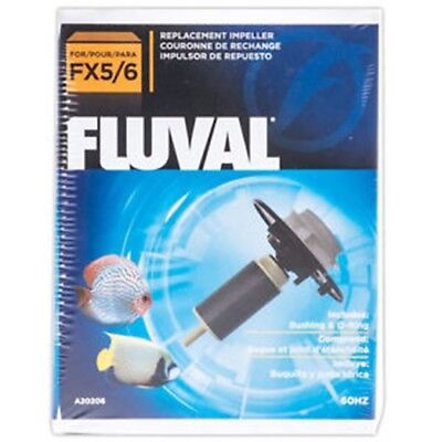 Fluval Fx5 Fx6 Impeller Kit A20206 Bushing Magnet External Filter Aquarium