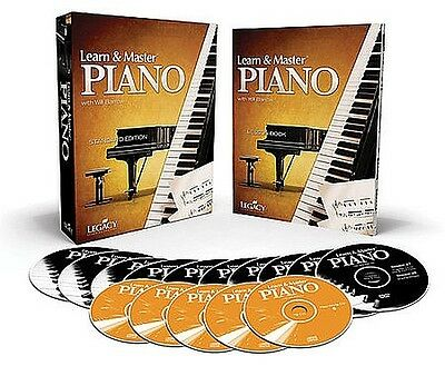 Learn & Master Piano Bk&5CDs&10DVDs