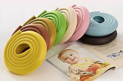 EXTRA THICK.2M Baby Safety Desk Table Edge Guard Protector +4 Corners Cushion