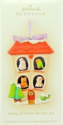 Home is Where the Pets Are ~  Hallmark ~2008~  MIB