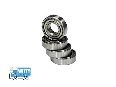608 zz Ball Bearing  08X22X07mm Pack of 8 Bearings