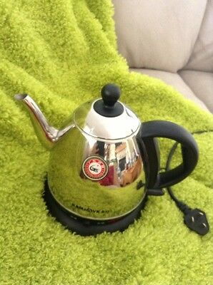 Kamjove Electric Rapid Boil Tea Pot Forgien Plug Cost 120.00 Awesome ASIAN