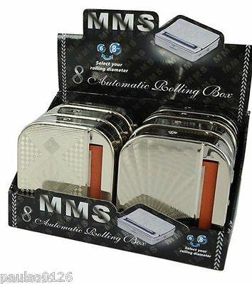 MMS Automatic Tobacco Cigarette Rolling  Box - Save Money - Select your Size