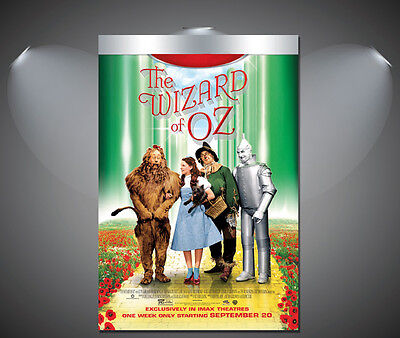 The Wizard of Oz Vintage Movie Poster - A1, A2, A3, A4 sizes
