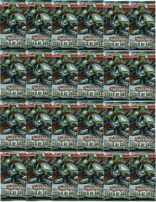 YUGIOH ORDER OF CHAOS BOOSTER [24 PACK LOT]