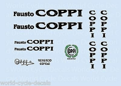Coppi Bicycle Decals-Transfers-Stickers #11