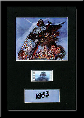 The Empire Strikes Back Framed 35mm Mounted Film cells - filmcell movie