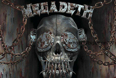 MEGADETH Group Music Poster # 3