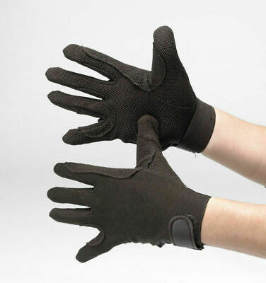 Hy5 Cotton Pimple Riding Gloves - Horse Riding Gloves