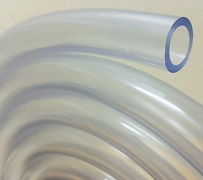 PVC Tube Clear Plastic Hose/Pipe - Food Grade - Fish/Pond/Car/Aquariums/Air