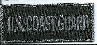 US Coast Guard patch large. 2 X 5 inch