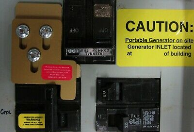 MUR-100X Murray, Siemens Generator interlock kit 100 Amp panel Transfer switch