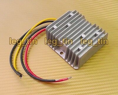 DC/DC 24V to 13.8V 15A 200W [Step DOWN] Waterproof Power Voltage Converter