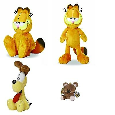 "Garfield and Friends Soft Plush Toys ~ NEW ~ Pooky Odie ~ 11"" 14"" Garfield"