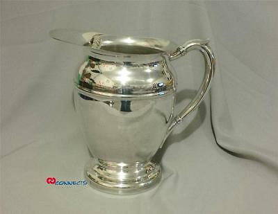 Vintage Viking Plate Silverplate Water Pitcher
