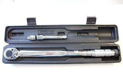 "3PCS 1/2"" DRIVE CLICK ADJUSTABLE TORQUE WRENCH Made in Taiwan"