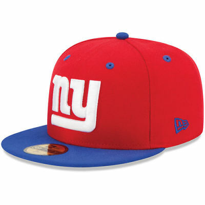 pretty nice 6a5e4 65733 New Era 5950 NEW YORK GIANTS NY 2 Tone Team Cap NFL Fitted Hat 2Tone 59Fifty