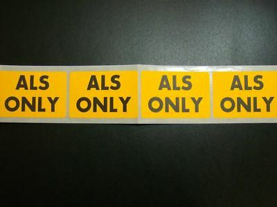 """5,000 Custom Printed Labels .75"""" x 1.25"""" Rectangle 1-Color Ink Business Stickers"""