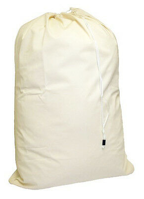 HEAVY DUTY Cotton Canvas Laundry Bag  24x36 *FREE S&H in USA*
