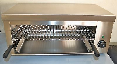 ACE 70cm Extra Wide Electric Salamander Grill Toaster. Fits 1/1 gastronorm inc