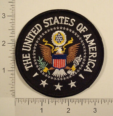 Great Seal UNITED STATES OF AMERICA USA Eagle Embroidered PATCH