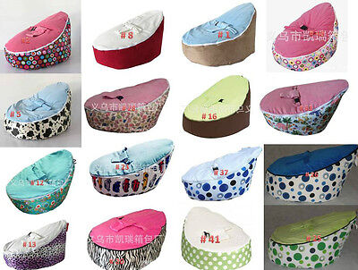 New Top Quality Various Print Baby Toddler Bean Bag Kid Portable Nursery Seat