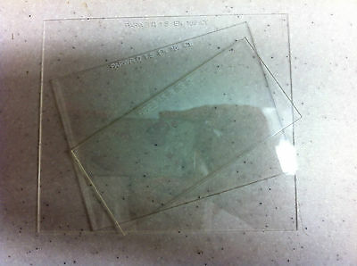 Clear CR39 CR 39 Cover Lens Lense Plastic Welding Helmet Replacement Protective