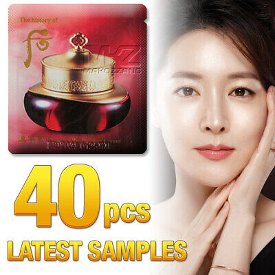 The history of Whoo Jinyulhyang Intensive Revitalizing Cream 40pcs Anti-Wrinkle