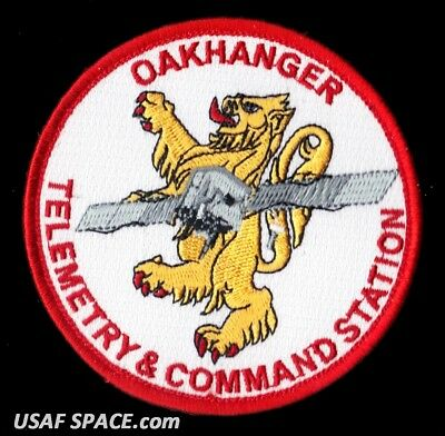 Oakhanger - Telemetry & Command Station Raf Usaf Satellite Space Patch