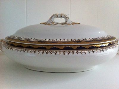 Vintage Tureen Booths Silicon China Stephensons Manchester Edwardian Shabby Chic