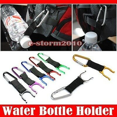 Wholesale 100 Carabiner Water Bottle Buckle Hook Holder Clip For Camping Hiking