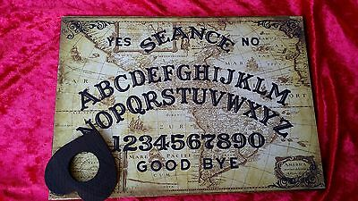Magical Old America's Seance Wooden Ouija Board & Planchett EVP ghost hunt Weeja
