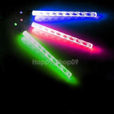 LED Magic Wand Color Changing Flash Torch Party Concert Glow Light Stick v#h9