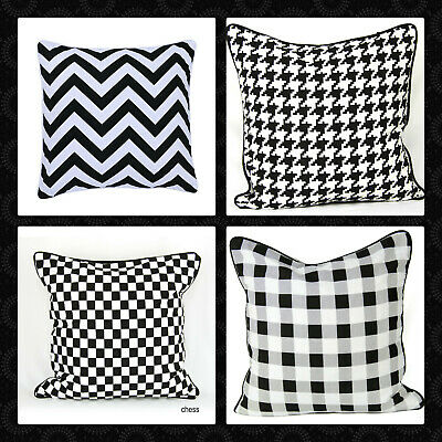 "100% Cotton's Designer Inspired Luxury Cushion Covers Size 18""x18"" Postage Free"