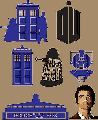 27 Doctor who Vector Clipart
