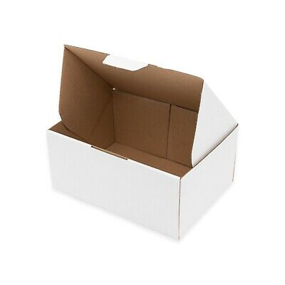 50 125x100x75mm Mailing Box Die-Cut * Light Strong Ideal for Small Accessories
