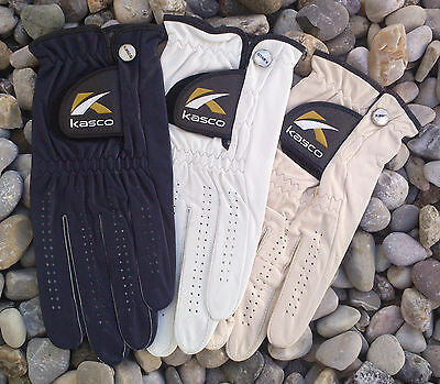 KASCO - Accura Fit - Cabretta Leder Golf Handschuhe Herren - Leather Glove Men