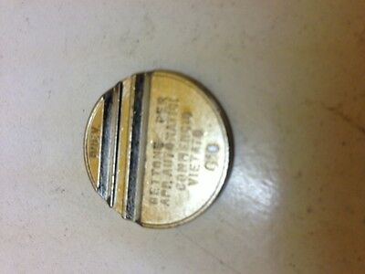 010   28 x 2 mm  TOKEN  JET WASH-HIGH SECURITY 50 VENDING-COIN OPS
