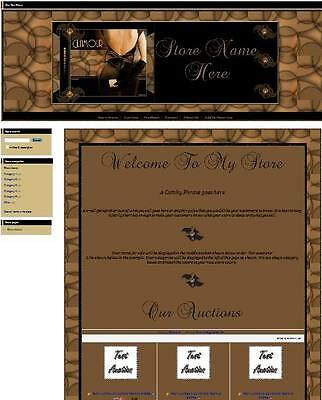 Sexy Brown Glamour Full Ebay Store Front Package