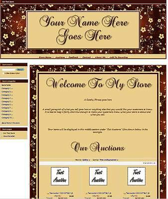 Copper Flowers Full Ebay Store Front Package