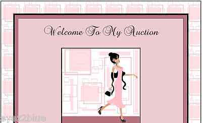 Abstract Elegance Sellers Auction Template
