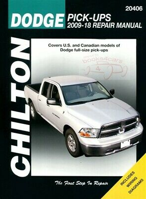 dodge ram shop service repair manual book chilton truck pickup rh picclick com 2013 dodge avenger repair manual 2006 Dodge Dakota Rear Drum Brake Diagram